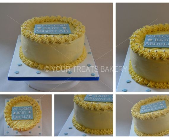 Buttercream Delight Yellow Cake