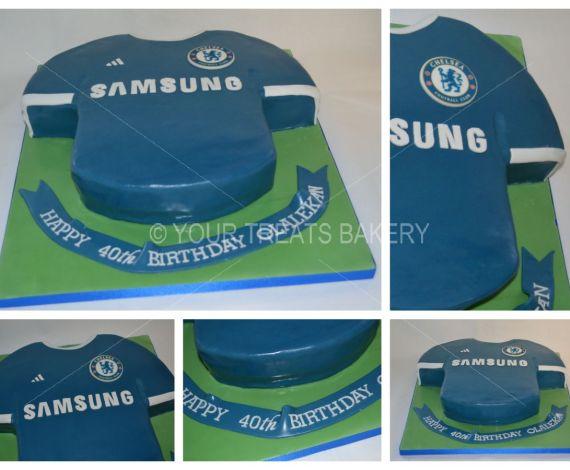 Chelsea Shirt Cake