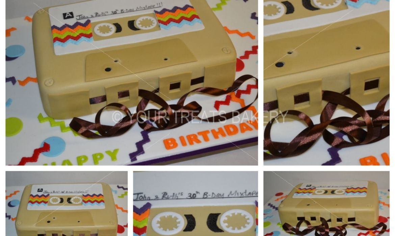 Mixtape Cake