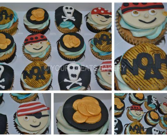 Pirates on Deck Cupcakes