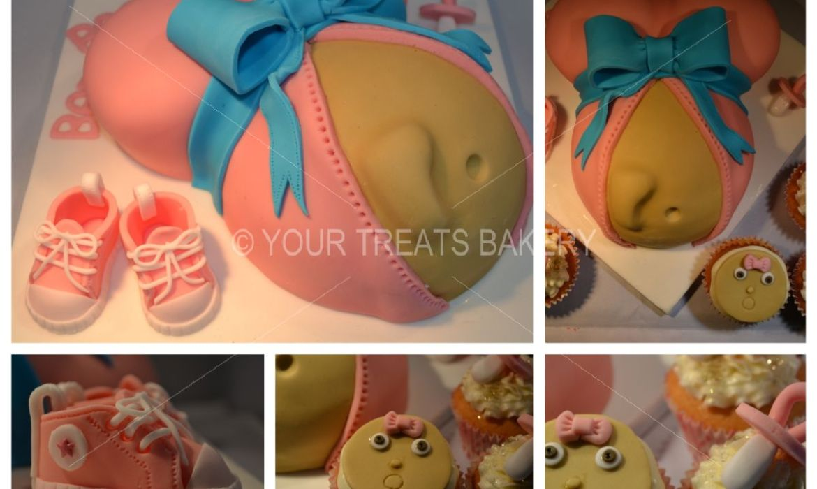 Pregnant and Happy Cake