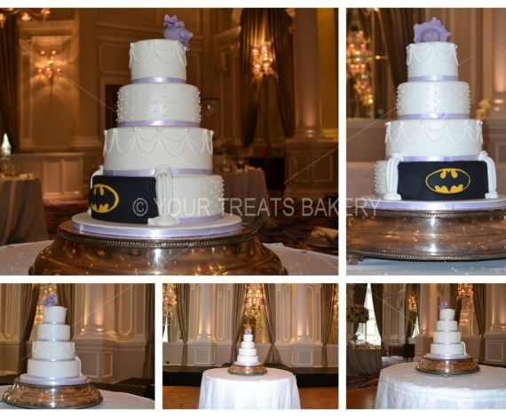Batman Delight Wedding Cake