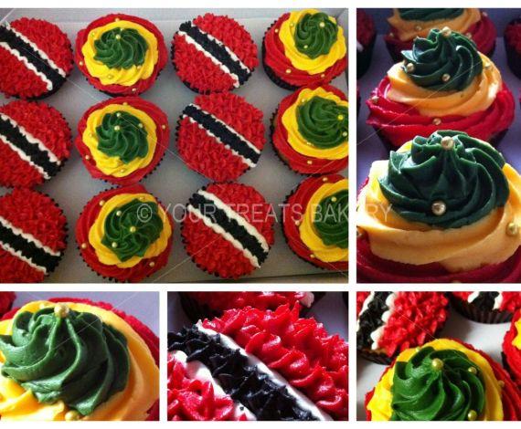 Trinidad & Tabago Cupcakes
