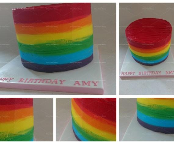 Rainbow Blend Cake
