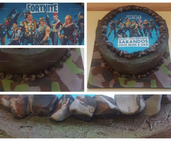 Fornite Battle Cake