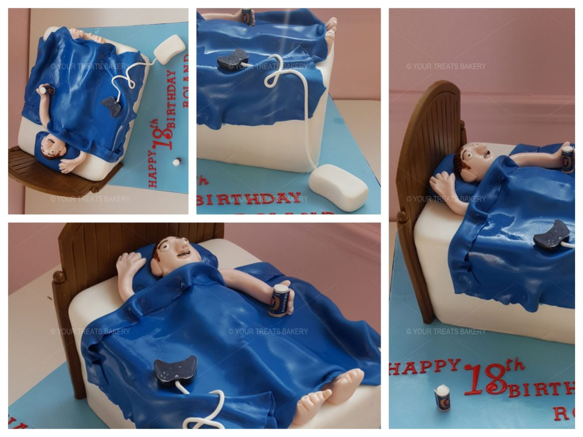3D Bed Cake