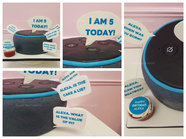 Amazon Alexa Cake