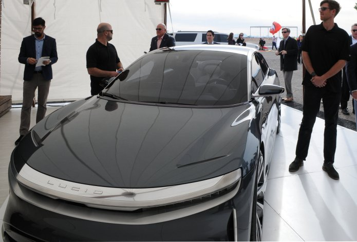 Ceo Optimistic On Future Of Electric Vehicles As Lucid Motors Builds Arizona Facility Your Valley