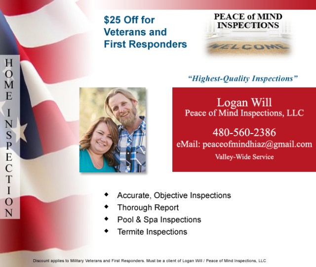 Peace of Mind Home Inspections - Logan Will