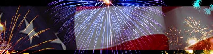 Flag & Fireworks - Freedom, July 4th, Quotes - Bill Salvatore, Arizona Elite Properties 602-999-0952