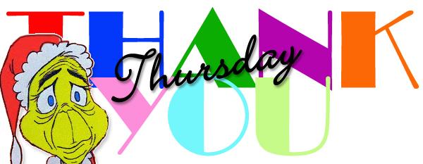 Thank You Thursday logo with thinking Grinch - Thank You Thursday - How the Grinch Stole Christmas - Dr. Seuss - Bill Salvatore, Arizona Elite Properties 602-999-0952 - Arizona Real Estate