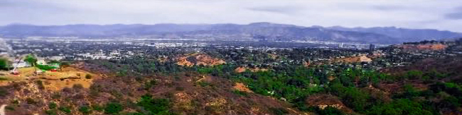 View of valley and mountain range beyond - Gwen Stefani's Beverly Hills Home for Sale - Valley View - Bill Salvatore, Arizona Elite Properties 602-999-0952 - Arizona Real Estate