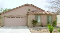 Single Level home, rose-beige with block-look corners - 417 E Sheffield Ave, Chandler AZ - Festiva Court - 2-Car Garage - Bill Salvatore, Arizona Elite Properties 602-999-0952 - Arizona Real Estate