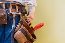 construction worker with tool belt - Home Renovation, New Construction, Home Improvement, Home Repairs - Bill Salvatore, Arizona Elite Properties 602-999-0952 - Arizona Real Estate