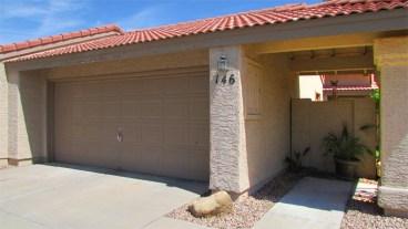 2-Car garage and gated entry - 945 N Pasadena, Mesa AZ - Park Centre Patio Homes - Bill Salvatore, Arizona Elite Properties 602-999-0952 - Arizona Real Estate