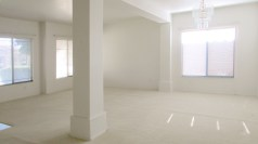 Tiled enty, light carpeting in open living/dining room, white walls - Carpeted Living Areas - 1162 S Sandstone St, Gilbert AZ - Bill Salvatore, Arizona Elite Properties 602-999-0952 - Arizona Real Estate