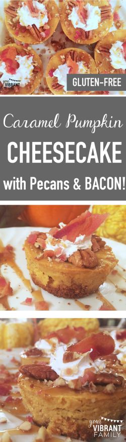 Country Mouse City Spouse Monday Mish Mash #38 Feature: Caramel Pumpkin Cheesecake with Pecans & Bacon @ Your Vibrant Family