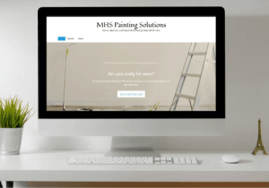 mhs painting solutions website