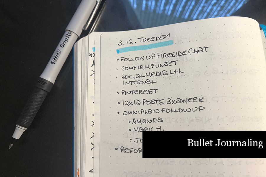 How to Journal - Bullet Journaling