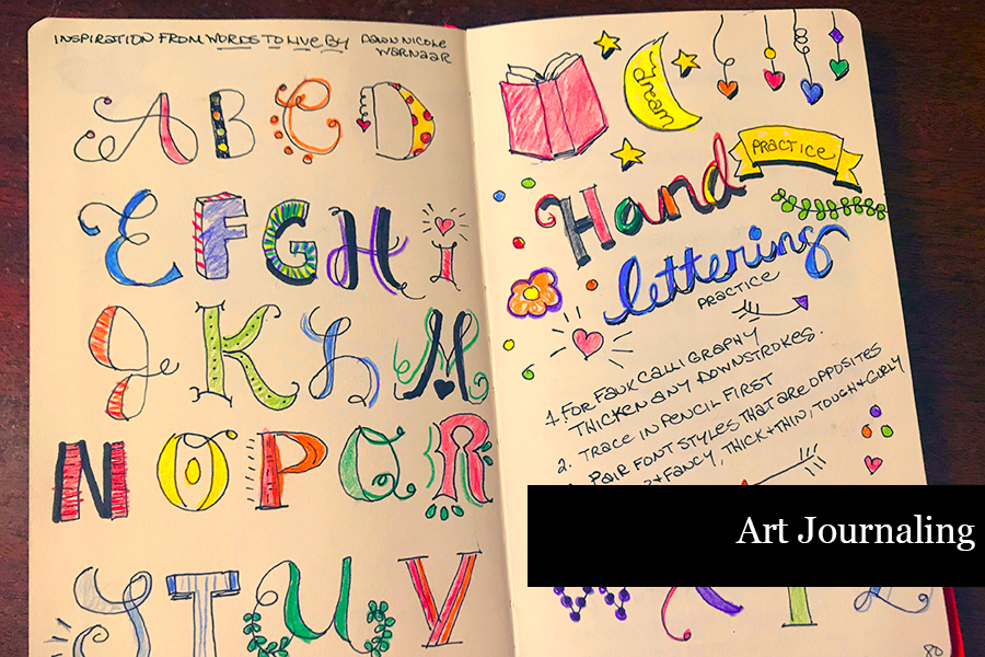 How to Journal - Art Journaling