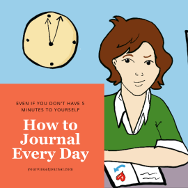 This post gets into the reasons we often abandon our journals, with some very practical (and blissfully easy) strategies for making it a part of your daily life.