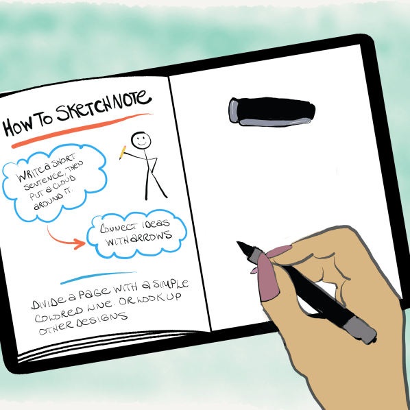 How to Create Sketchnotes (with no artistic ability at all)