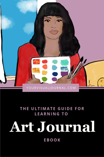 Art journaling is a practice that can reignite your inner creative spark. This post goes deep on techniques, supplies, who to follow and shares links to tutorials and resources. #artjournal #artjournaling #mixedmedia
