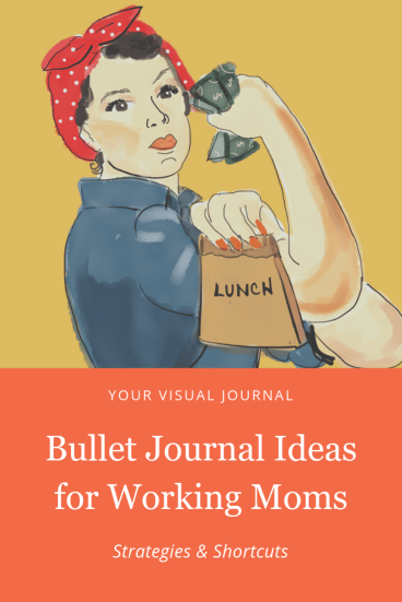 While a Bullet Journal isn't a silver-bullet-miracle-cure for the life of a working mom, it can really, really help.