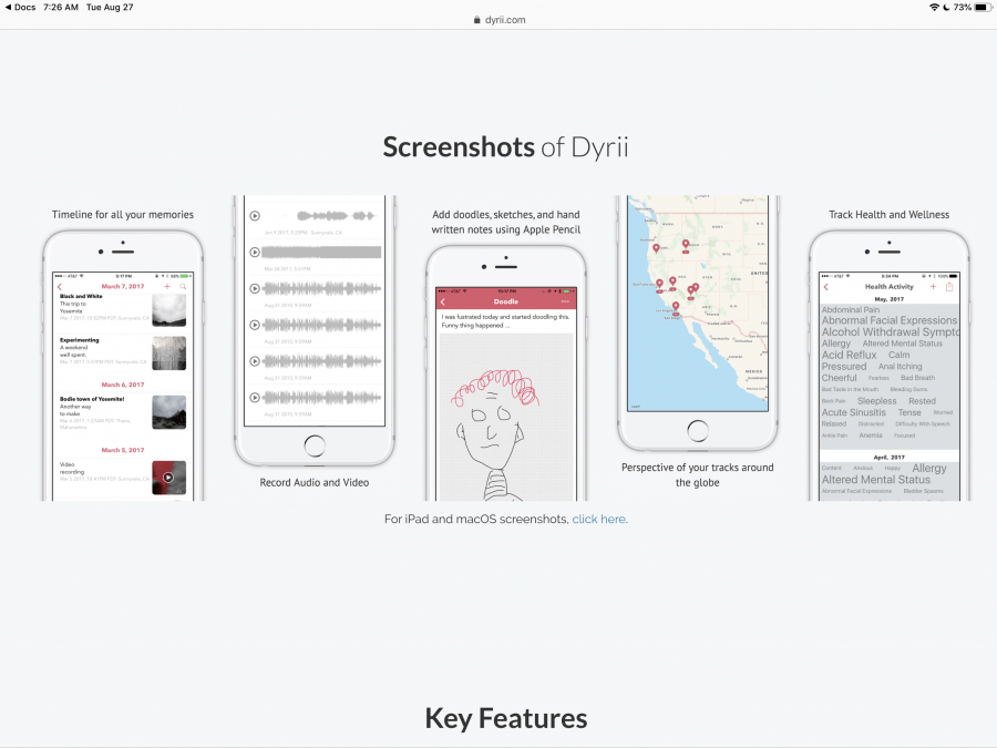 Dyrii Journaling App