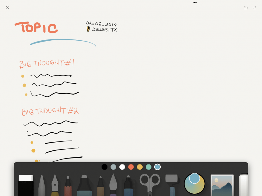 Paper Journal App by WeTransfer