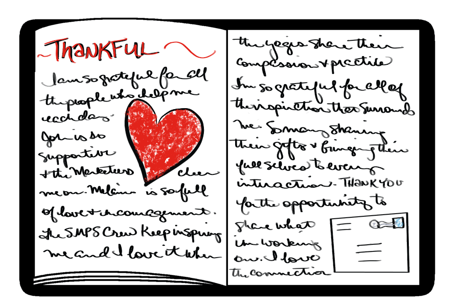 Gratitude journaling is a highly personal exercise.