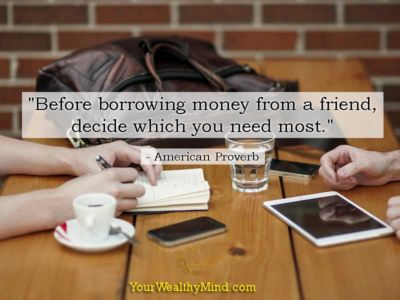 Quote-when-borrowing-from-friend