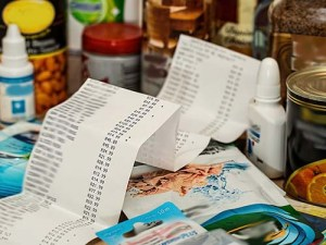 receipt shopping groceries pixabay