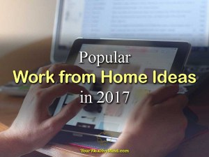 Popular Work from Home Ideas in 2017