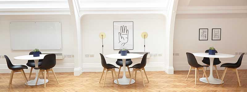 meeting room tables chairs