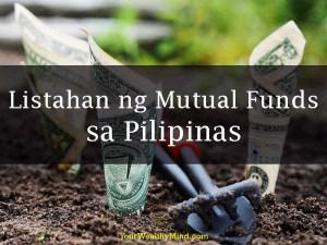 Listahan ng Mutual Funds sa Pilipinas - Your Wealthy Mind