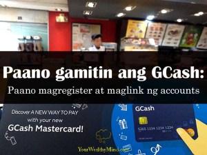 paano gamitin ang gcash your wealthy mind
