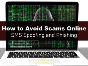 How to Avoid Scams Online SMS Spoofing and Phishing your wealthy mind