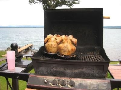 Oven-Roasted Beer Can Chicken