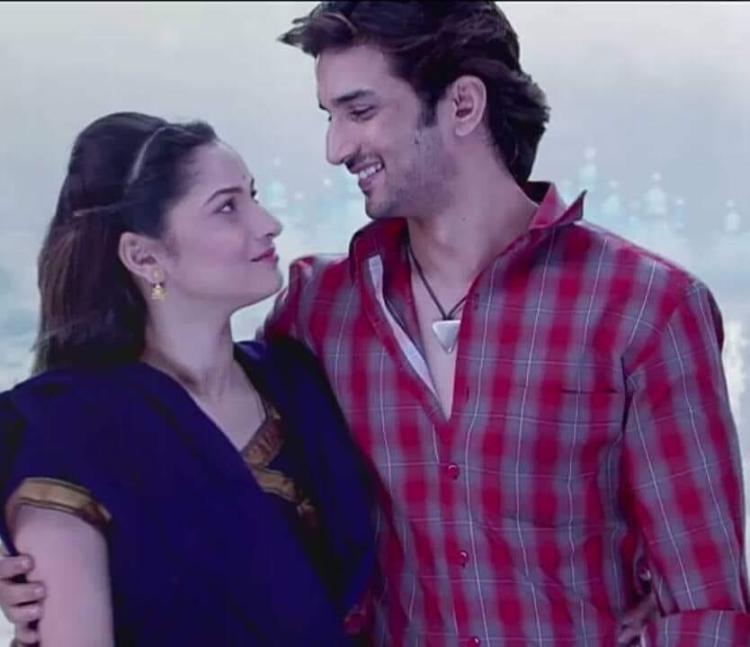 Ankita Lokhande with Sushant Singh Rajput