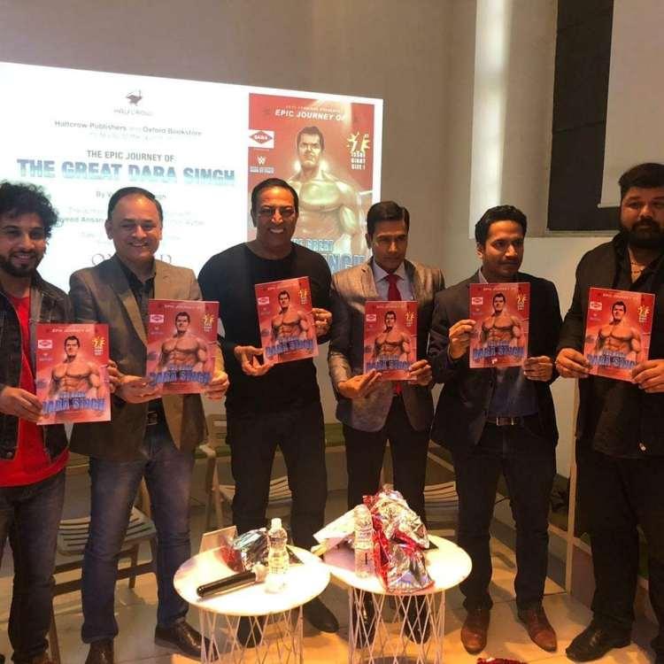 Comic book launched by Vindu Dara Singh in 2019