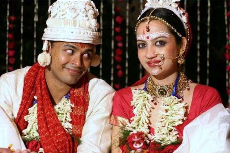 Sorabh Pant with his wife Iva Bagchi