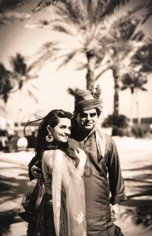 Atul khatri with his Daughter Diya Khatri