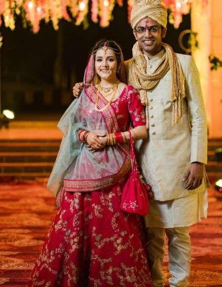 Biswa Kalyan Rath with his wife Sulgana Panigrahi
