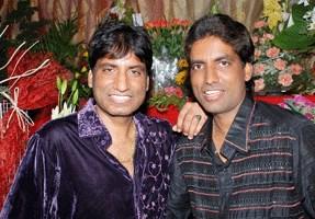 Raju Srivastav with his brother Deepu Srivastava