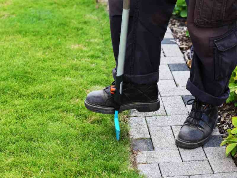 how to edge a lawn by hand, How To Edge A Lawn By Hand-Your Grass Will Love It!