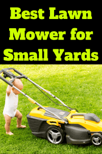 Best Inexpensive Lawn Mower for Small Yards or Apartment