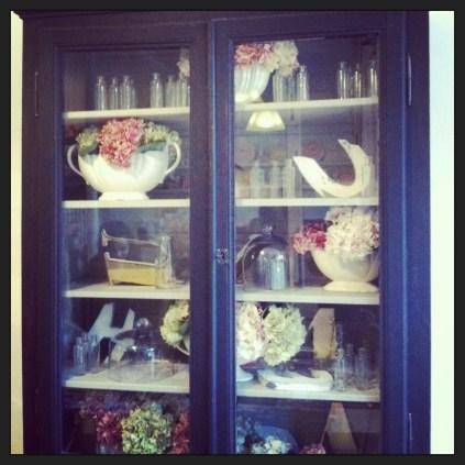Dreamy kitchen cupboard