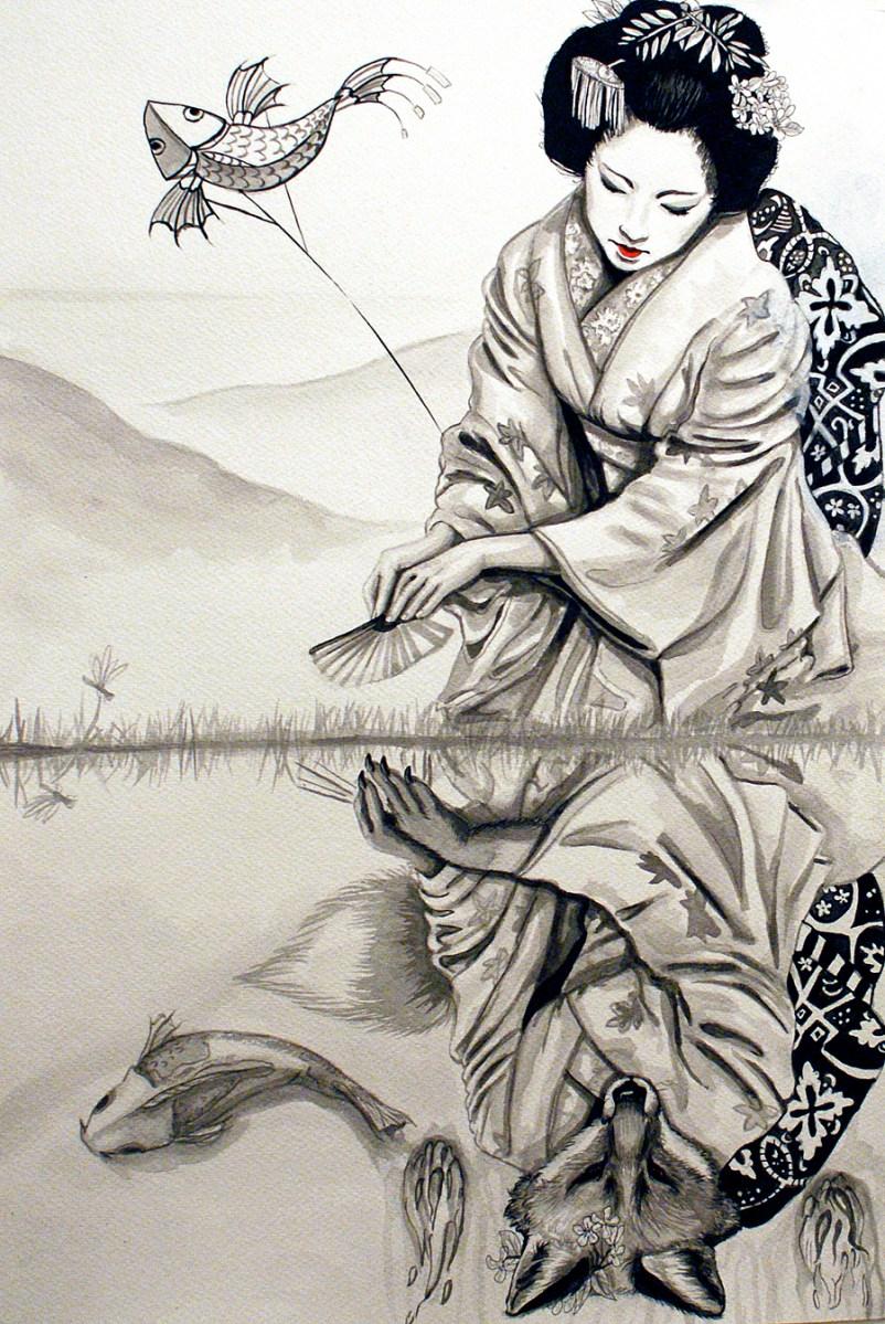 Contextual References Kitsune Yousei Tales