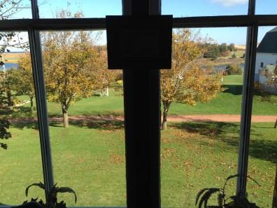 モンゴメリが子供時代をよく過ごした部屋から見える風景。